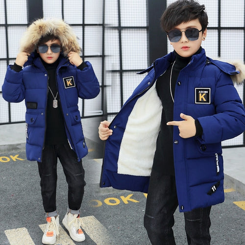 Boy Cool Winter Cotton Jacket