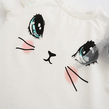 Load image into Gallery viewer, Cute Cat Cartoon Set T-Shirts Tutu Skirts