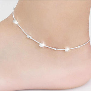Small Box Women Chain Ankle Bracelet
