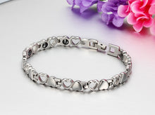 Load image into Gallery viewer, Love Titanium Steel Radiation Protection Health Bracelet