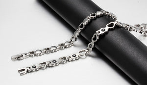 Love Titanium Steel Radiation Protection Health Bracelet
