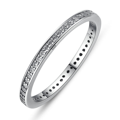 925 Sterling Silver Authentic Dazzling Ring
