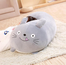 Load image into Gallery viewer, Soft Fat Cartoon Cat Pillow