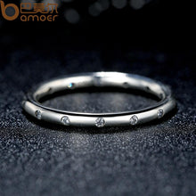 Load image into Gallery viewer, 925 Sterling Silver Droplets Stackable Classic Ring