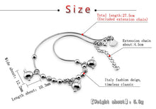 Load image into Gallery viewer, 925 Sterling Silver Little Angel Eggs Ankle Bracelet