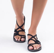 Load image into Gallery viewer, Women Summer Gladiator Flat Sandals
