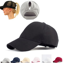Load image into Gallery viewer, Sequins Shining Ponytail Baseball Cap