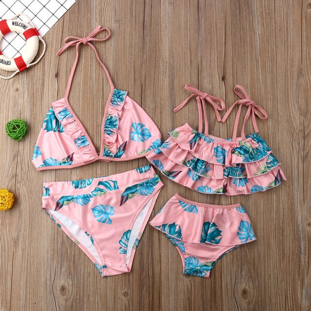 Mommy&Me Summer Sweet Floral Set Swimsuit