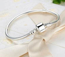 Load image into Gallery viewer, 925 Sterling Silver Snake Chain Bracelet