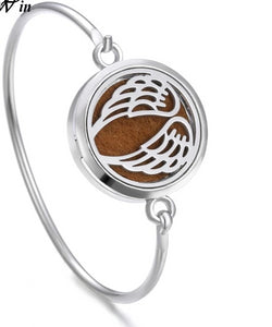 Essential Oil Diffuser Tree of Life Locket Bracelet