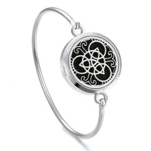 Load image into Gallery viewer, Essential Oil Diffuser Tree of Life Locket Bracelet