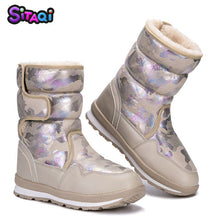 Load image into Gallery viewer, Girls New style Snow Boots Winter Shoes