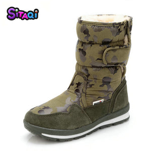 Girls New style Snow Boots Winter Shoes