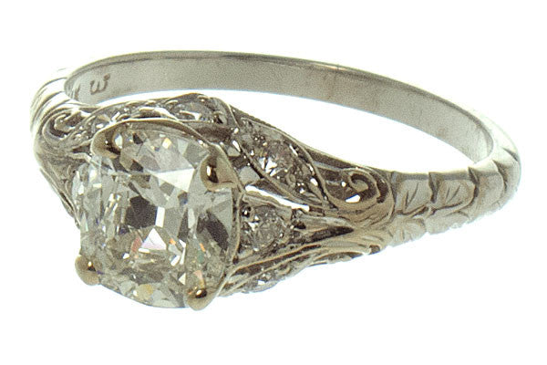 Antique 1.44ct Diamond Engagement Ring - Chicago Pawners & Jewelers