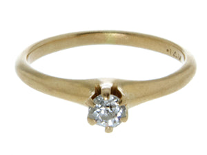 Victorian Diamond Engagement Ring - Chicago Pawners & Jewelers