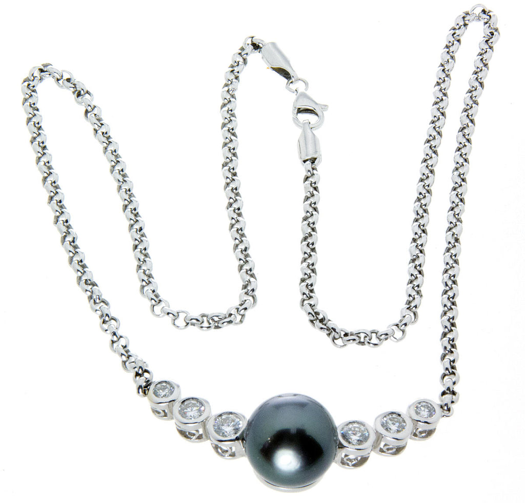 diamond wendy lyst brigode in pearl product jewelry white necklace