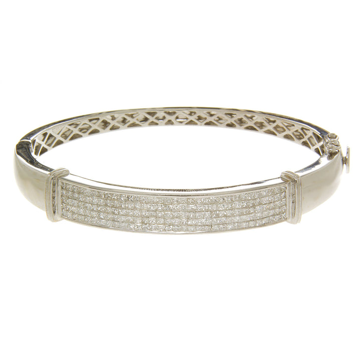5.00ct Diamond Bangle Bracelet in 18kt - Chicago Pawners & Jewelers