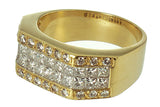 3.50 ct Princess & Round Diamond Band Ring - Chicago Pawners & Jewelers