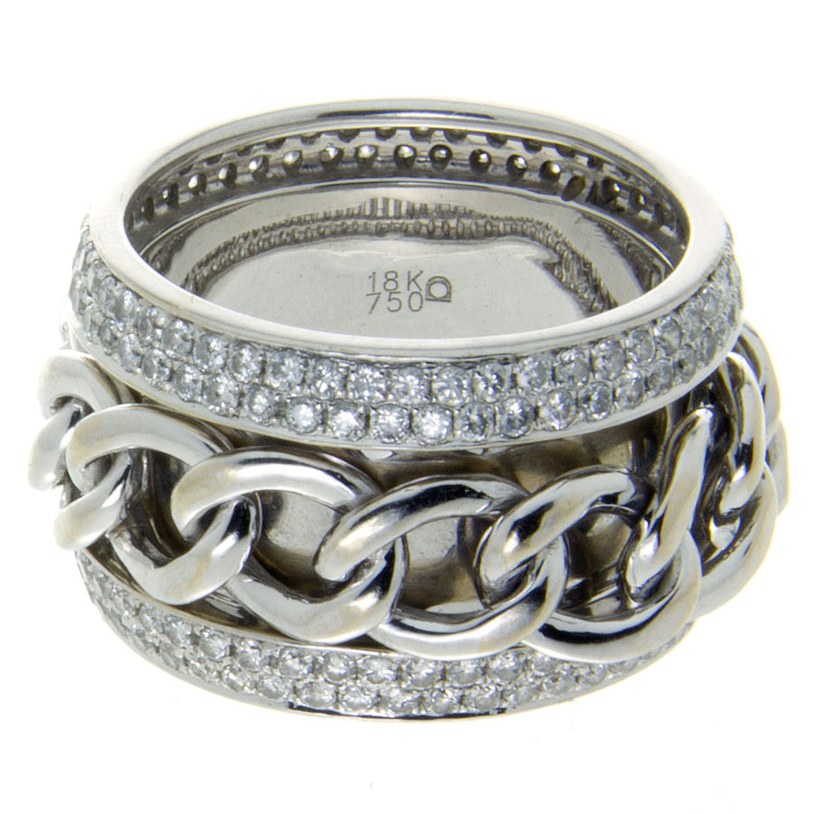 1.50ct Diamond Spinner Wedding Band - Chicago Pawners & Jewelers