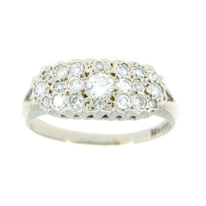 1950s 1.25ct Diamond Band Ring