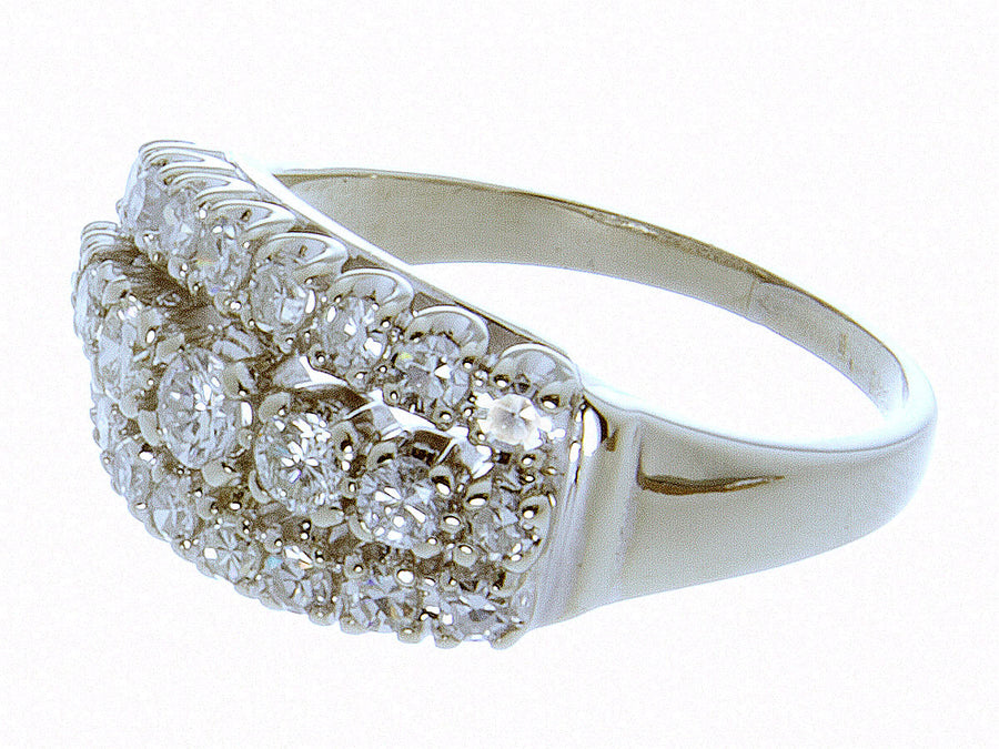 1950s 1.00ct Diamond Anniversary Band Ring - Chicago Pawners & Jewelers