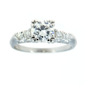 Vintage 1950s Diamond Engagement Ring