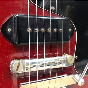 1965 Gibson SG Junior - EMBER RED! - Chicago Pawners & Jewelers
