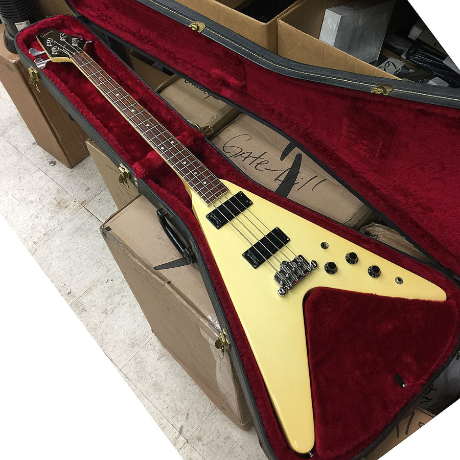 1985 Gibson Custom Shop Flying V Bass Guitar - Chicago Pawners & Jewelers