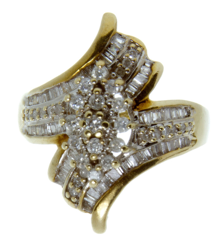 1.00ct Diamond Cocktail Ring - Chicago Pawners & Jewelers