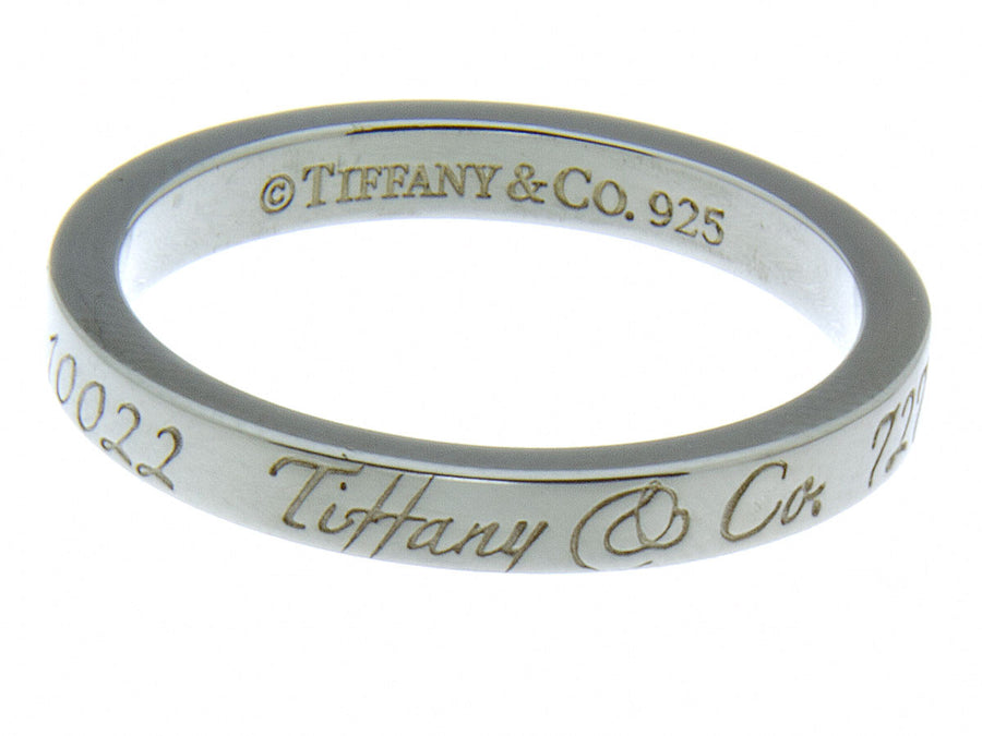 Tiffany & Co. Notes Band Ring - Chicago Pawners & Jewelers
