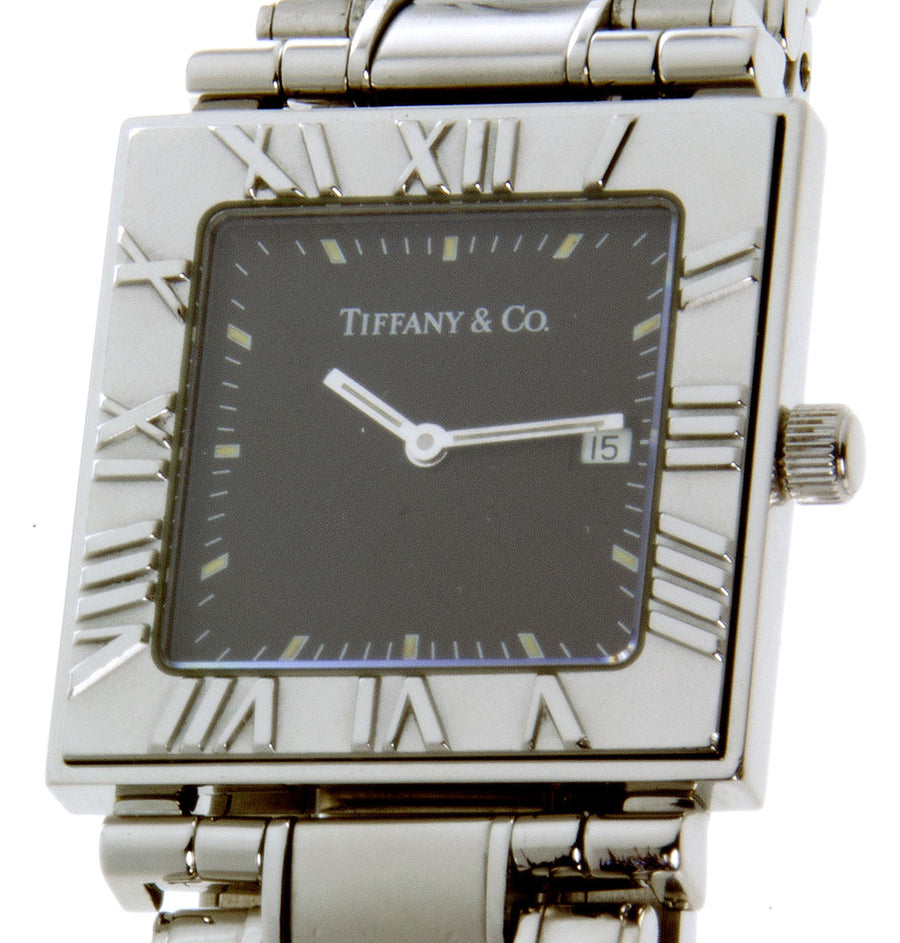 Tiffany & Co. Atlas Square Watch