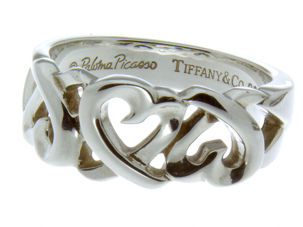 Tiffany Co Paloma Picasso Loving Heart Ring Chicago Pawners