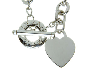 Tiffany & Co. Heart Toggle Necklace