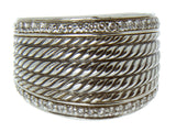 David Yurman Wheaton Diamond Band Ring
