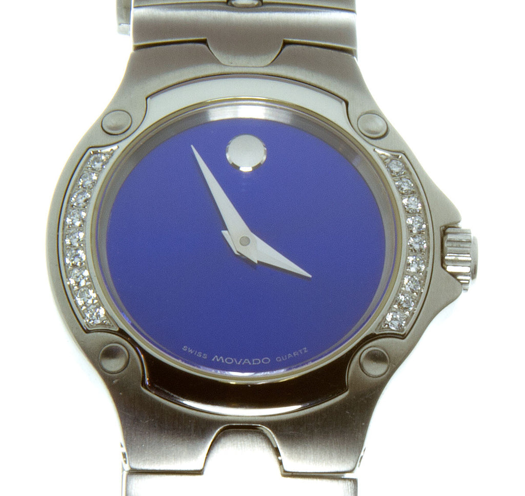 Movado SE Sports Edition Diamond Watch - Chicago Pawners & Jewelers