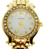 Movado Brileti 14k Gold & Diamond Watch - Chicago Pawners & Jewelers