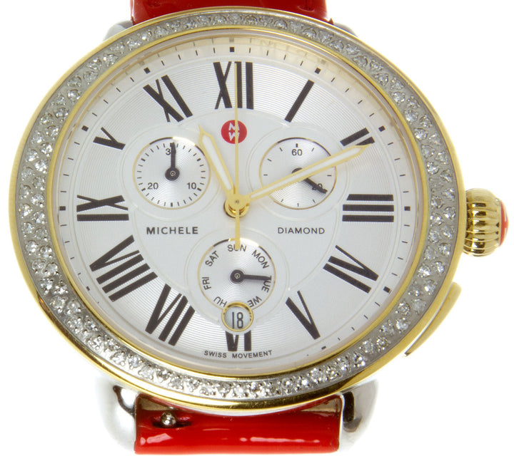 Michele Serein Chronograph Diamond Watch - Chicago Pawners & Jewelers