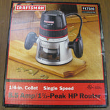Craftsman 1 1/2hp 8.5 Amp Router - Chicago Pawners & Jewelers