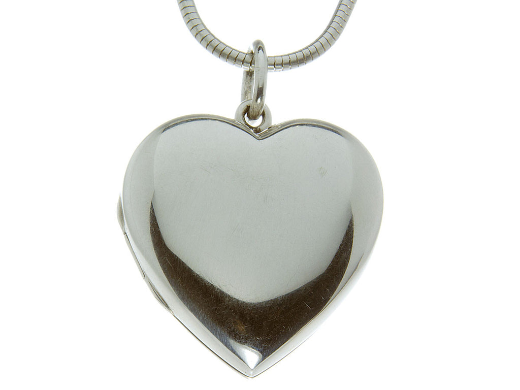 Tiffany heart locket pendant chain chicago pawners jewelers tiffany heart locket pendant chain aloadofball Image collections