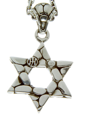 John Hardy Kali Star of David Pendant & Chain - Chicago Pawners & Jewelers