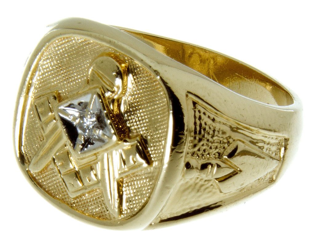 Man's Diamond Masonic Ring - Chicago Pawners & Jewelers