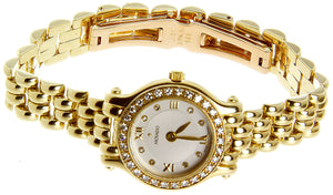 Movado Brileti 14k Gold & Diamond Watch