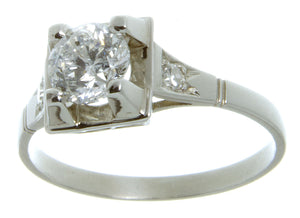 1950s 0.94ct Diamond Engagement Ring - Chicago Pawners & Jewelers
