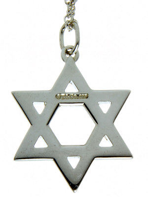 Tiffany & Co. Star of David Pendant - Chicago Pawners & Jewelers