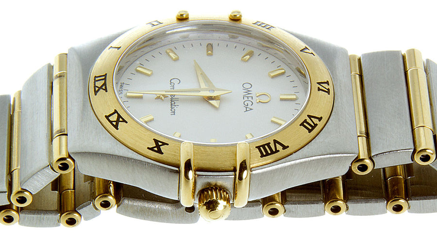 Omega Constellation SS/18K - Chicago Pawners & Jewelers