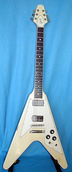 1981 Gibson Flying V - Rare Wide Nut Model - Chicago Pawners & Jewelers