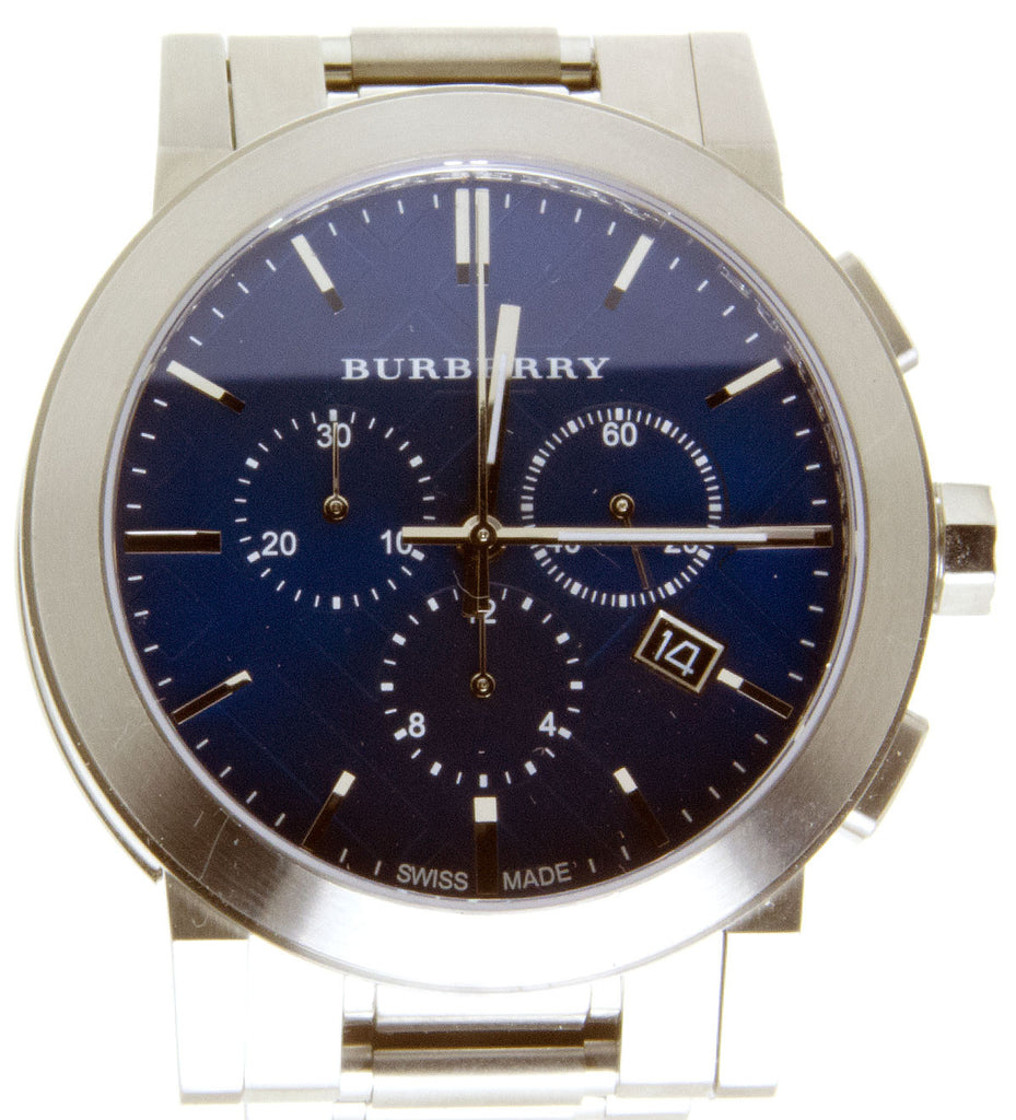 Burberry The City Steel Chronograph
