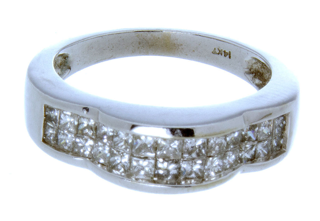 1.50ct Invisible Set Diamond Band Ring - Chicago Pawners & Jewelers