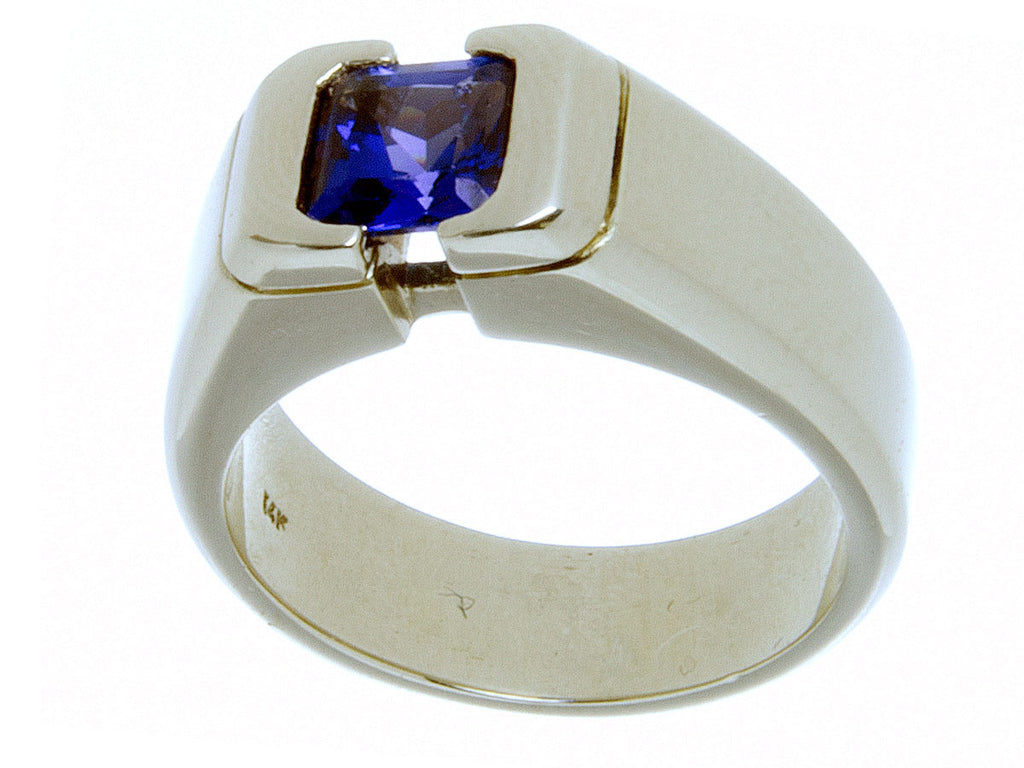 Mens 2.00ct Tanzanite Ring by Ponce - Chicago Pawners & Jewelers