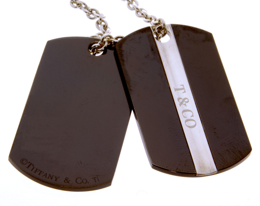 Tiffany & Co. T&Co. Double Tag Pendant